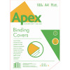 Fellowes Apex Blue Leatherboard Covers A4 (Pack of 100) 6501101