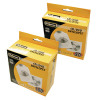 Fellowes CD Envelope White Paper (Pack of 100) 90691
