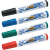 Bic Velleda 1701 Bullet Tip Assorted Whiteboard Marker (Pack of 4) 1199001704