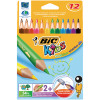Bic Evolution Coloured Pencils Assorted Colours (Pack of 12) 829735