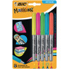 Bic Permanent Markers Fine Colour Intense Assorted 942865