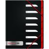 Black n Red 7 Part Sorter File (Pack of 2) BX810415