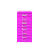 Bisley 29 10 Non-Lock Multidrawer Fuschia BY78742