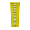 Bisley 39 15 Non-Lock Multidrawer Canary Yellow BY78745