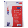 Mail Lite Bubble Lined Size A/000 110x160mm White Postal Bag (Pack of 100) MLW A/000