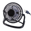 4 Inch USB Black Desk Fan Pack of 1 39020
