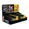 Duracell AA Plus Power Batteries 5+3 Free (Retail (Pack of 24) 81446192