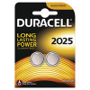 Duracell DL2025 3V Lithium Button Battery (Pack of 2) 75072667