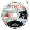 ST3Di Black ABS 3D Printing Filament 750g ST-6011-00