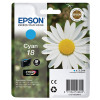 Epson 18 Cyan Inkjet Cartridge C13T18024010 / T1802
