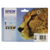 Epson T0715 Black /Cyan/Magenta/Yellow Inkjet Cartridge (Pack of 4) C13T07154010 / T0715