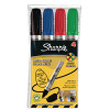 Sharpie Metal Permanent Assorted Bullet Tip Marker (Pack of 4) S0945760