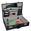 Monolith Expanding Attache Case PVC Black 2350