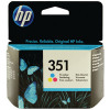 HP 351 Cyan/Magenta/Yellow Inkjet Cartridge CB337EE