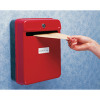 Helix Post/Suggestion Box Red W81060
