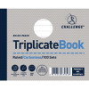 Challenge Triplicate Book Ruled Carbonless 100 Sets 105x130mm (Pack of 5) 100080471