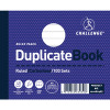 Challenge Duplicate Book Ruled Carbonless 100 Sets 105x130mm (Pack of 5) 100080487