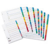 Concord A4 50-Part 1-50 Multicolour Index Divider 05001/CS50