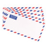 Q-Connect Airmail DL Envelopes Printed 70gsm Gummed (Pack of 500) KF01413