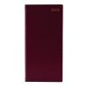 Week to View 2019 Portrait Burgundy Slim Diary KF1BG19