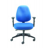 Cappela Wave Radial High Back Posture Blue Chair  KF71359