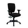 Cappela Wave Square High Back Posture Chair Black Pack of 1 KF71364
