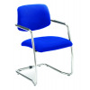 Arista Cantilever Fabric Executive Visitor Blue Chair  KF74498