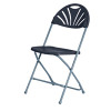 Jemini Folding Chair Charcoal KF78657