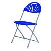 Jemini Folding Chair Blue KF78658