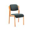 Jemini Wood Frame Side Chair Charcoal KF78680