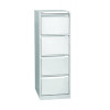 Jemini Filing Cabinet 4 Drawer White KF78708