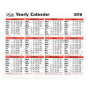 Letts Yearly Calendar 2016 5-TYC