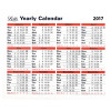 Letts Yearly Calendar 2017 5-TYC