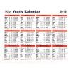 Letts Yearly Calendar 2019 5-TYC