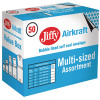 Jiffy Assorted Sizes Gold AirKraft Bag (Pack of 50) JL-SEL-A
