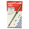 Uni-Ball Eye Fine Rollerball Pen UB-157 0.5mm Line Black (Pack of 12) 9000700
