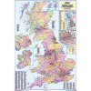 Map Marketing UK Counties Districts & Unitary Authorities Map BIC