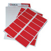 Blick Red Labels in Office (Packs (Pack of 320) RS019954
