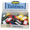 Stephens Assorted Tabbies Keyrings Display (Pack of 50) RS521211