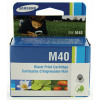 Samsung M40 Black Inkjet Cartridge INK-M40/ELS