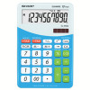 Sharp Desktop Calculator With Tax Conversion Function Blue ELM-332BPL