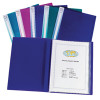 Snopake Electra Display Book A3 24 Pocket Assorted (Pack of 5) 14103
