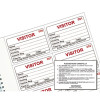 Identibadge System Visitors Book Refill IBRSYS300 (Pack of 300