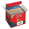 Assorted Colour Dustless Chalk Sticks (Pack of 100) 77660