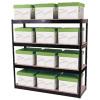 Storage Solutions Boltless 4-Shelf Unit Black STS56037