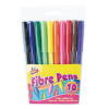 Berol Black Water-Based Colourfine Pens Wallet (Pack of 12) S0376300