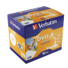 Verbatim 4.7GB 4x Speed Jewel Case DVD-RW (Pack of 10) 43285