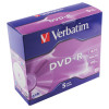 Verbatim DVDR 16x 4.7GB Non-Printable Pack of 5 43497