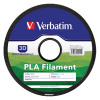 Verbatim PLA 1.75mm White 1kg Reel 3D Printing Filament 55251