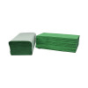 2Work Green I-Fold Hand Towel 1-Ply 190x250mm (Pack of 3600) 2W70105